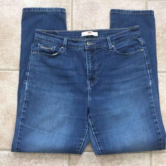 Levi's Denim - Levi's Perfectly Slimming 512 Skinny Jeans Tapered